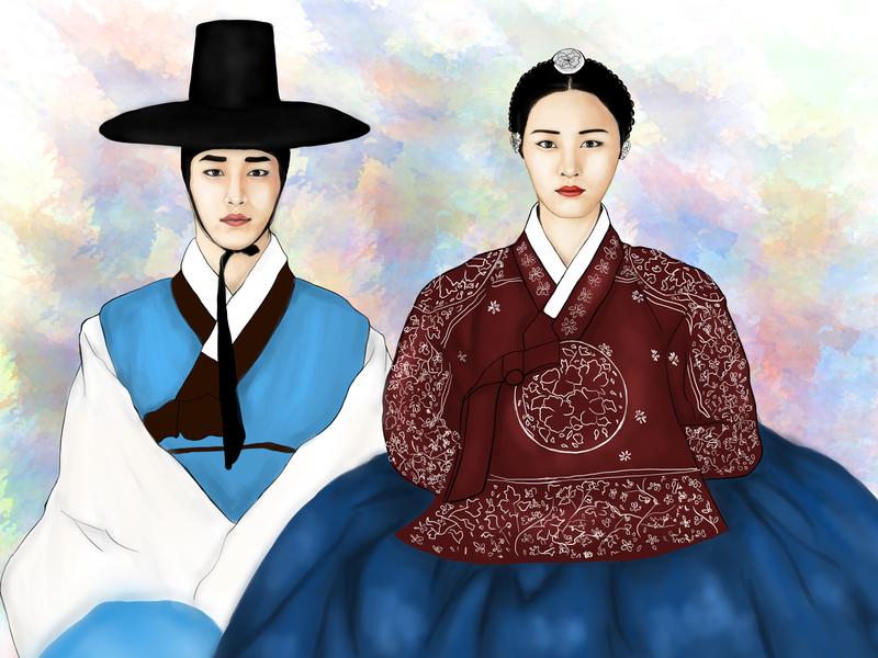 Hwajung drama korean korea photoshop artsy arts kpop illustrations illustration art illustration drawingart artwork art painting paint ilustration digital painting digital illustration digitalart design