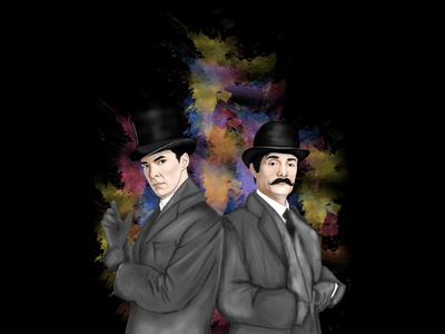 Sherlock Holmes And John Hammish Watson