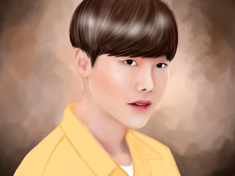 Lee Jong Suk by Dyana Pratiwi on Dribbble