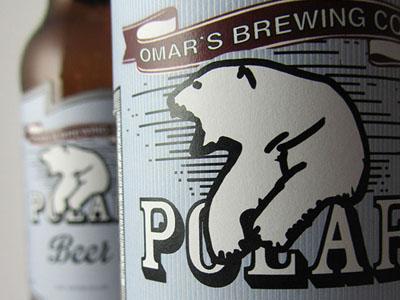 Polar Beer Label Packaging