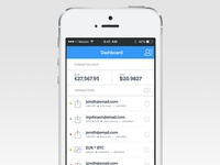 Bitcoin mobile wallet app