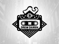 Drew Damen Hip Hop logo proposal