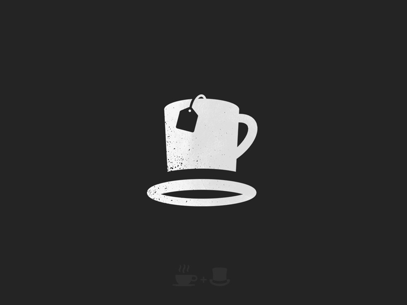 Client work WIP dusan klepic brand clothing apparel negative space mark logo cup tea hat beaver