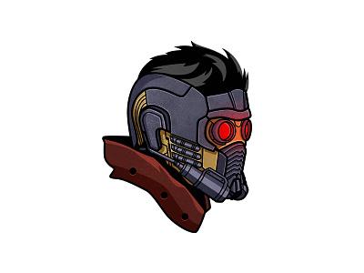 Star lord dusan klepic helmet marvel studios guardians of the galaxy star lord peter quill superhero marvel