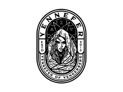 Yennefer Of Vengerberg yennefer dusan klepic runes love witch sorceress beautiful woman fanart fantasy character rpg gaming geralt witcher