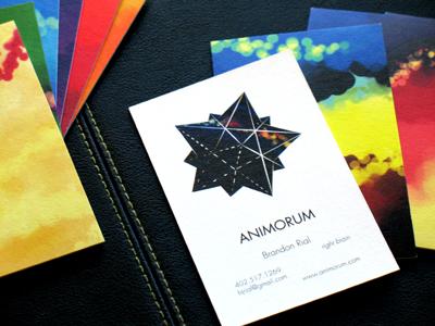 Animorum Business Cards business card