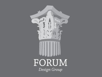 Forum logo forum column