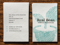 Real Bean Business Cards
