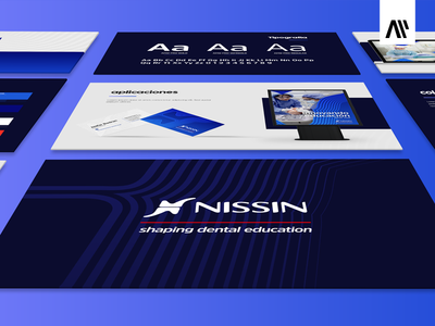 Nissin Branding Project design multitasking branding branding and identity aleps