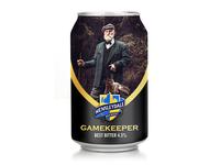 Gamekeeper beer rebranding