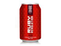 Ruby Revolution beer rebranding