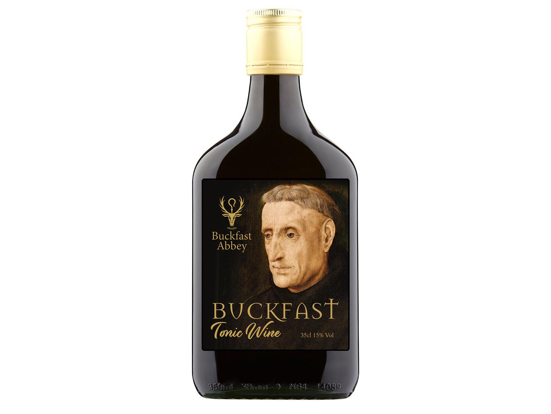 Buckfast Tonic Wine redesign beer alcohol drink wine bottle wine design rebranding packaging branding graphic design