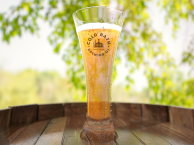 Beer glass Redshift and cinema 4d render.