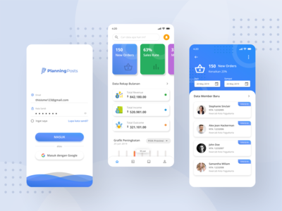 Dashboard and Membership App