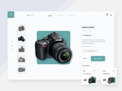 Camera Store - Exploration