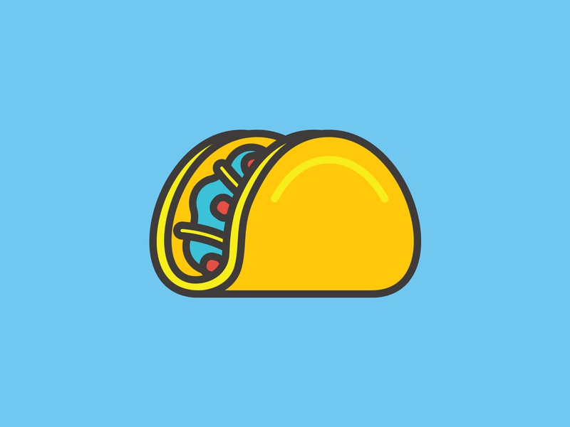 Taco Or Chalupa Illustration