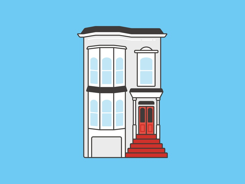 Fuller House + Full House Illustration