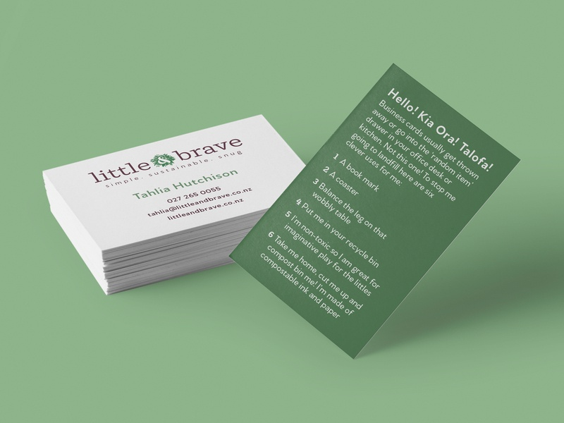 Eco Friendly Recyclable Compostable Green Business Cards