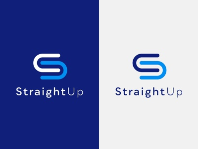 Clean Logo Design For An Auckland Software Business logotype identity branding company branding brand identity logo design concept blue logo blue brand design branding u logo s logo software logo software company tech logo logo designer logo design logo flat clean minimal