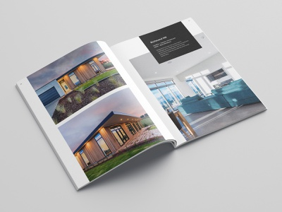 Company Profile Brochure Design for a Construction Company print design gallery design construction company modern minimal clean booklet brochure design ideas brochure design booklet design company profile design white space
