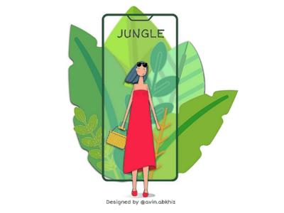 """Digital Jungle"" by Avin.Abkhiz"