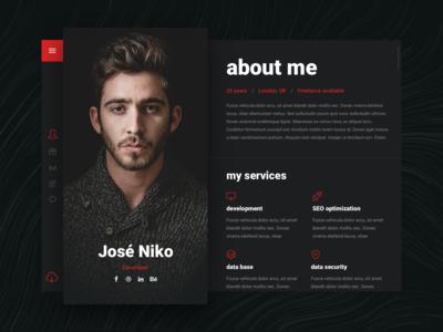 Niko Resume WordPress Theme