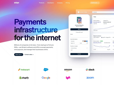 Home animation typography branding design gradient wave stripe redesign home page landing page