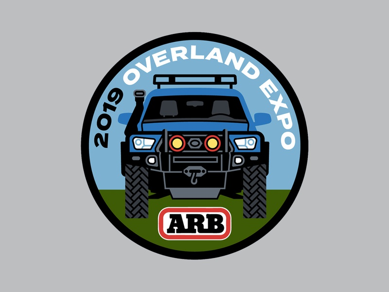 ARB Overland Expo Patch vehicle car overland jeep patch