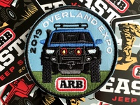 ARB Overland Expo Patch 2 illustration outdoors patch vehicle car jeep