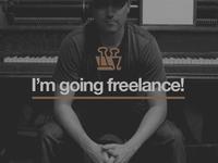 I'm going freelance!