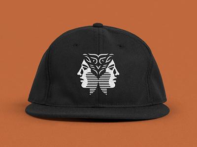 Wisdomist Hat wool hat illustration branding logo face hat