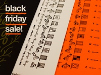Black Friday Sale on posters