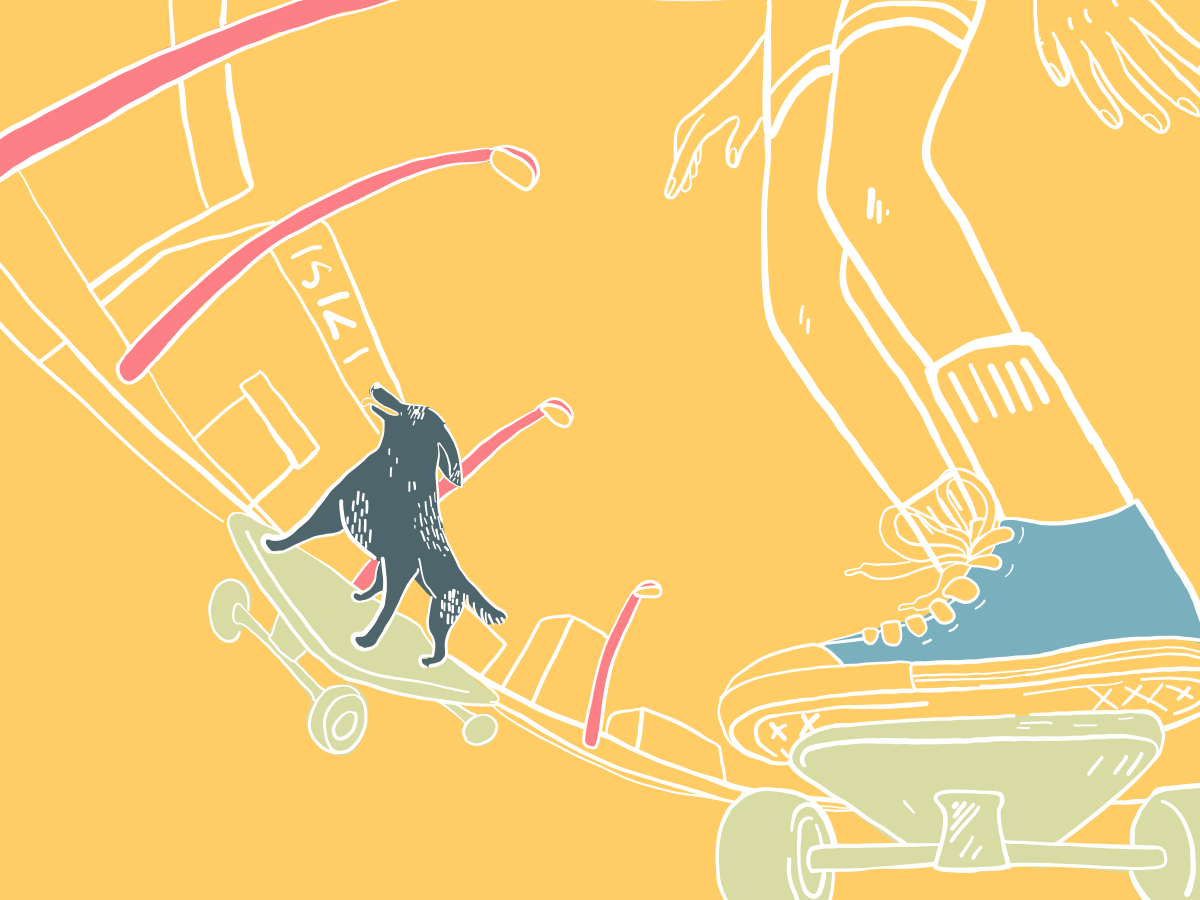 3 of the Most Useful German Start Ups for Event Organisers skating blog vector illustration