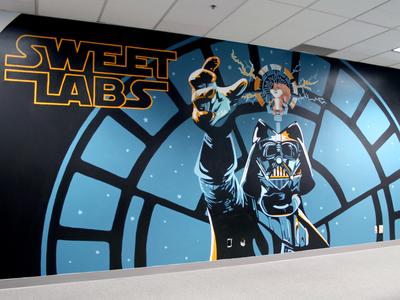 Sweet Wars Mural