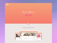Bindr - Landing page home