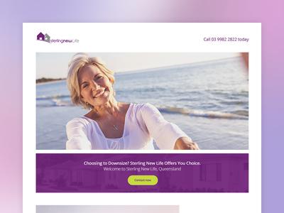 Retirement Landing page