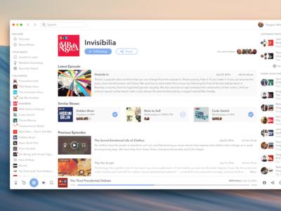 NPR One for macOS os x osx app player radio desktop macos one npr