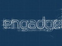 Engadget blueprint logo