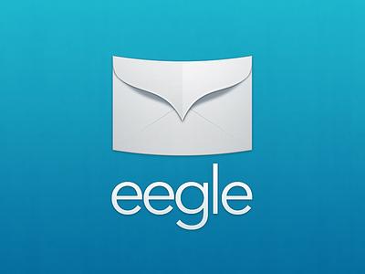 Eegle logo email eagle eegle envelope