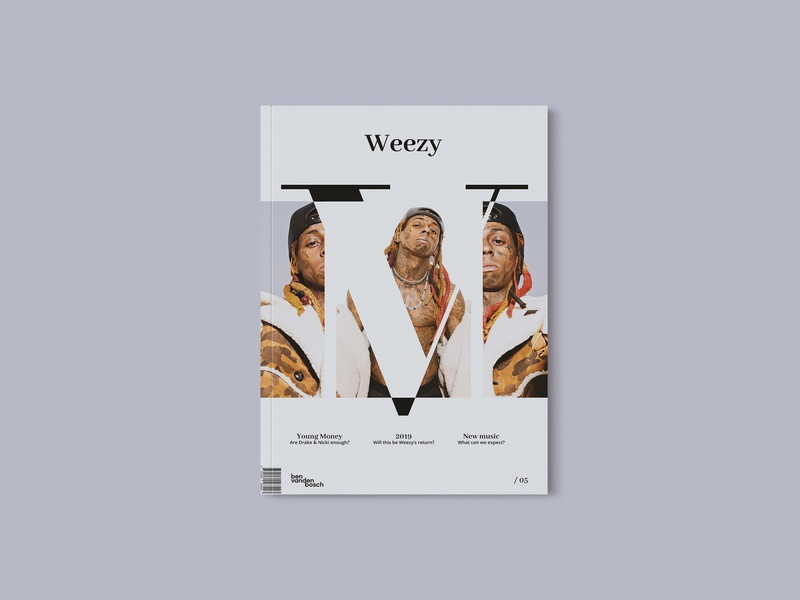 Magazine 06 - WEEZY magazine graphicdesign cover art design