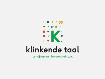 Logo 03 - Klinkende Taal graphic design branding graphicdesign logo design