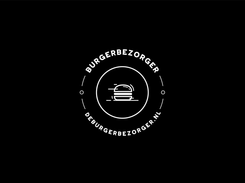 Logo 05 - Burgerbezorger branding vector logo illustration graphicdesign design