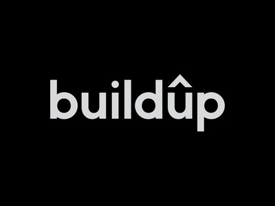 Logo 08 - Buildup adobe typography vector graphic design logo branding graphicdesign design