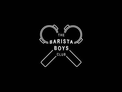 Logo 10 - Barista Boys Club illustration typography graphic design logo branding graphicdesign design