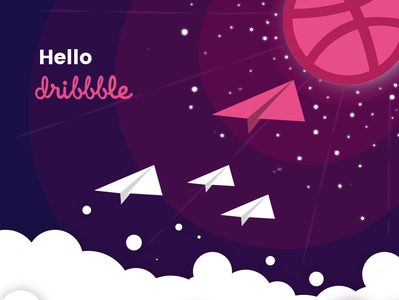 Dribble shot design ux ui debutshot dribbble illustration