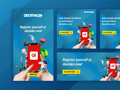 Social Media project for Decathlon Indonesia