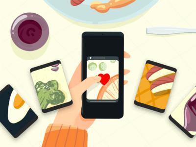 Foodie Illustration