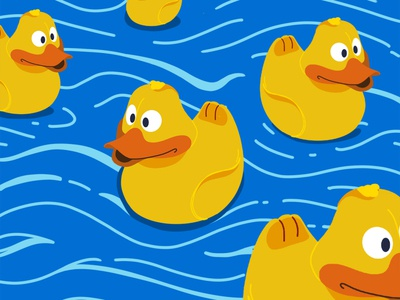 Moby Duck Illustration