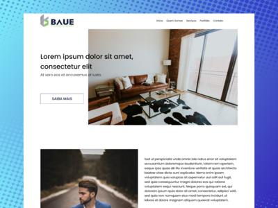 Website Baue Construction