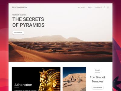 Website The Secret of Pyramids